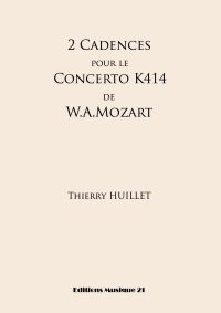 2 Cadences for Mozart's Concerto K414