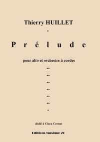 Huillet: Prelude, for viola and string orchestra