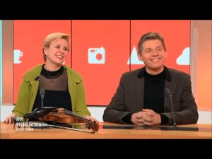 Interview Clara Cernat- Thierry Huillet. « 9h50 le matin » France 3 Occitanie
