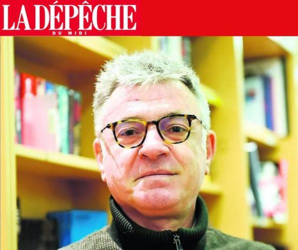 """La Dépêche du Midi – Olivier Bellamy """"Le petit Prince""""."""