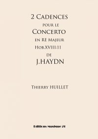 2 Cadences for Haydn's Piano Concerto Hob.XVIII:11