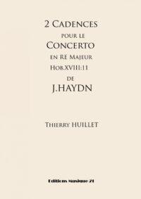 2 Cadences for Haydn's Piano Concerto Hob.XVIII:11